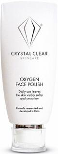 Cristal Clear oxygen face polish
